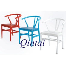 high quality good material Y back metal chair