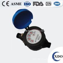 Multi-jet vane wheel dry dial cold water meter