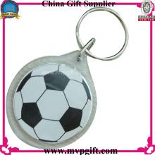 Llavero de acrílico para regalos de fútbol