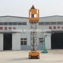 6 m electric hydraulic self propelled scissor lift for sale