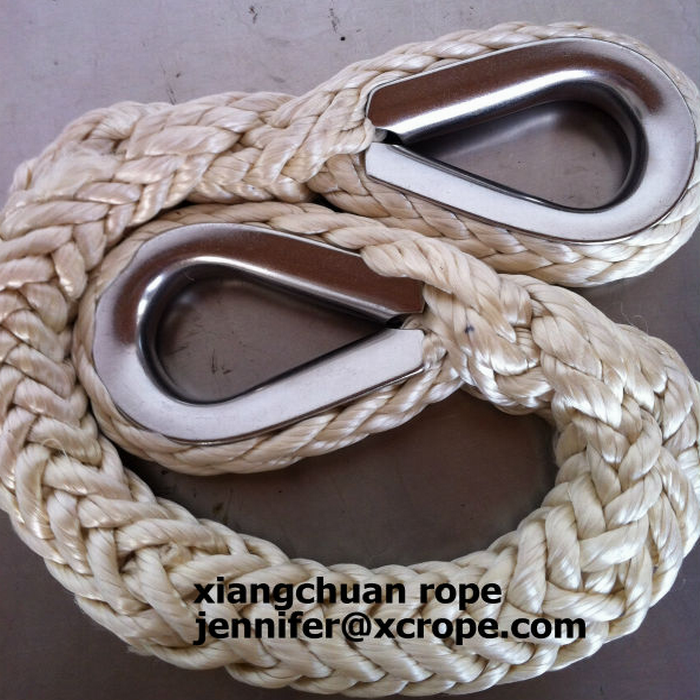 UHMWPE rope with capel 0