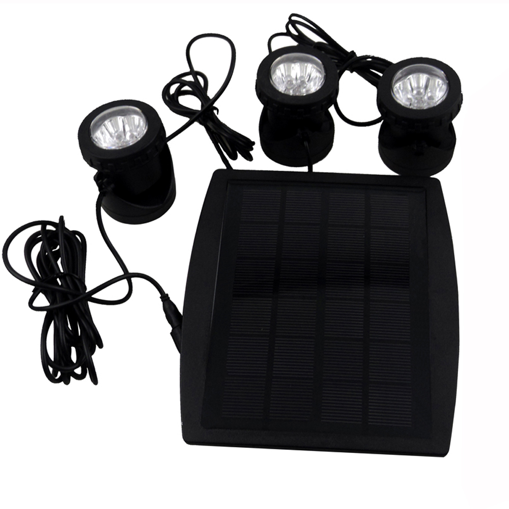 Outdoor Underwater Solar Light