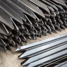 Austrlian New Zealand Black Bitumen Y fence Post china direct factory