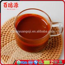 Venta caliente distribuidor de jugo de goji goji baya goji natural