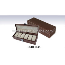 leather watch box for 6 watches manufacturer wholesales