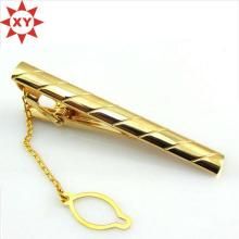 OEM изготовленный на заказ классический Плакировкой Золотой зажим для галстук