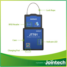 Container Lock Electronic GPS Tracker with RFID Driver ID Card