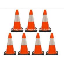 Cubierta de cono de tráfico reflectante de seguridad