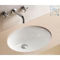 Hohe Qualität Badezimmer Unter Counter Oval Runde Form Kunst Keramik Porzellan Waschbecken Waschbecken