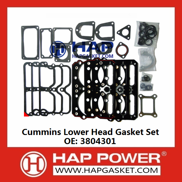 CUMMINS Lower Head Gasket Set 3804301