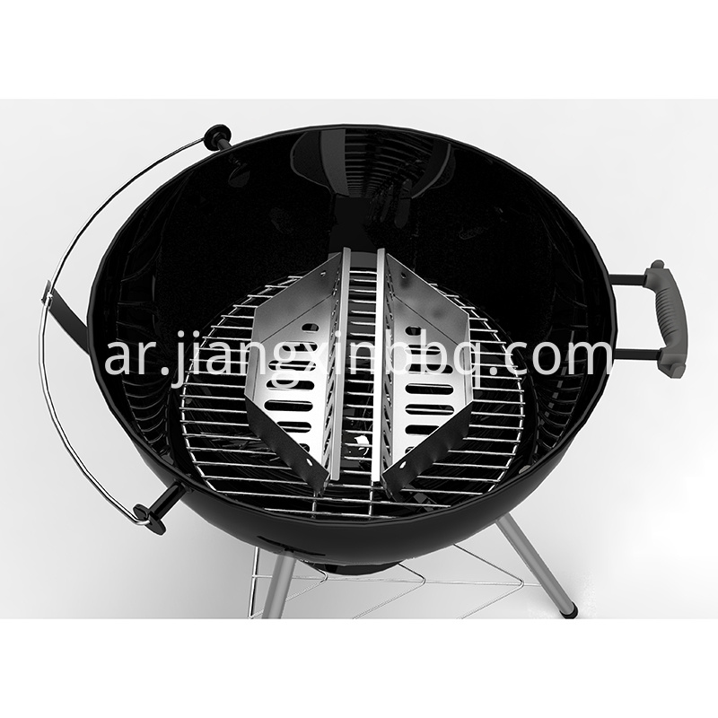 Charcoal Briquettes Holder Overall View