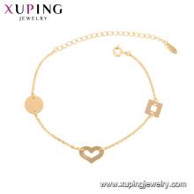 75777 xuping ambiental Pulseiras de cobre de ouro para mulheres pulseira