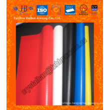 Waterproof PVC Tarpaulin Awning Fabric with UV Treated