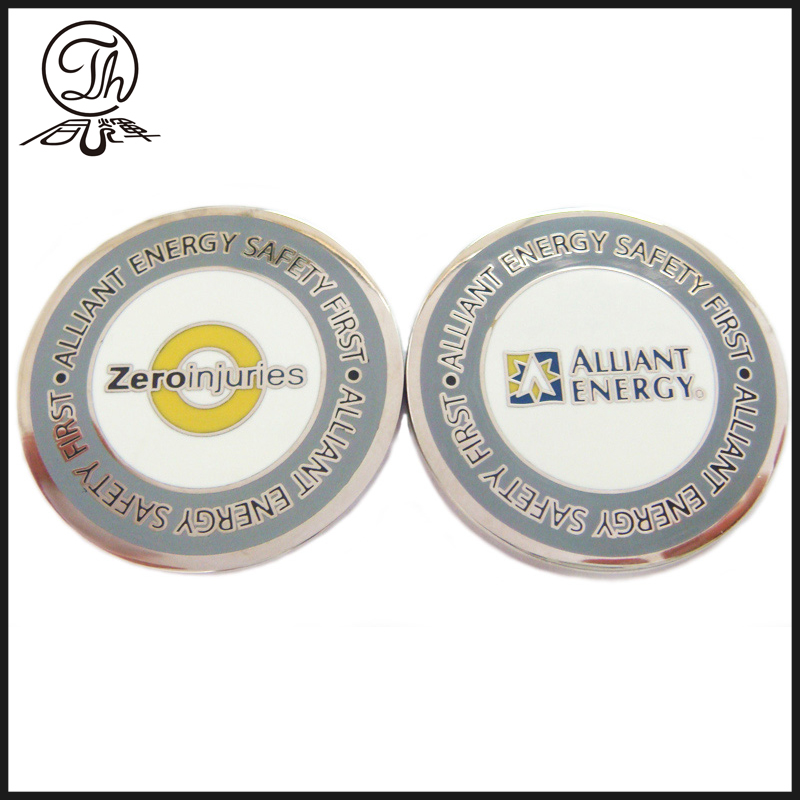 enamel metal coin