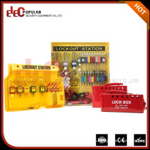 Elecpopular Ultimos Productos Chinos Safe Pad Lock Lockout Tagout Estación Para Mayor Fabricante