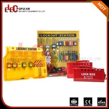 Elecpopular Zhejiang Fabrik Safe Pad Lock Lockout Station