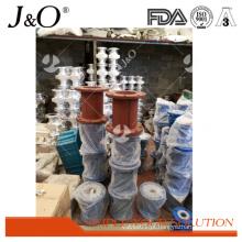 Liga de alumínio Pnumatic industrial da quantidade alta que espreme a válvula de pitada
