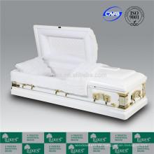 Ausgefallenen amerikanischen hölzernen Sarg Coffin für Beerdigung _ China Schatullen Hersteller