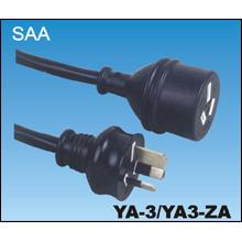 Australische SAA Stecker auf Stecker Netzkabel