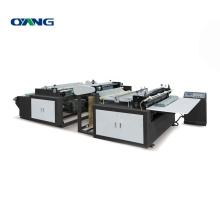 Precision Non Woven Ultrasonic Fabric Cutting Machine, Non Woven Fabric Roll to Sheet Cutting Machine