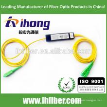 Fábrica SC / APC Singlemode ABS pacote Fibra Óptica Splitter
