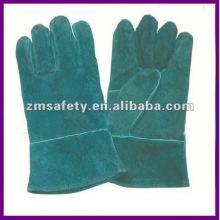 Green Chrome Leather Welding Glove/Working Glove ZMR372