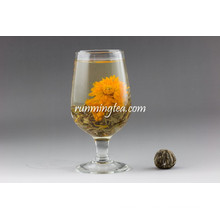 Marigold Halal Floração Chá Bolas Royal Lili Bloom Chá