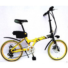"""20 """" Folding Electric Bicycle (lithium battery)"""