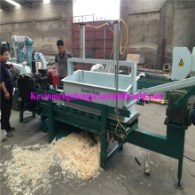 4 Axle 16 Blades Poultry Bedding Used 30 HP Diesel Powered Wood Shaving Making Machine (1000KG/Hour)