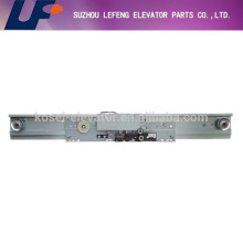 Mitsubishi type center/side opening two/four panel landing door device, landing door mechanism