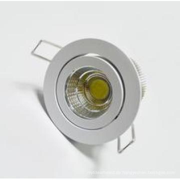 Heißer Verkaufs-6W runder COB LED Downlight
