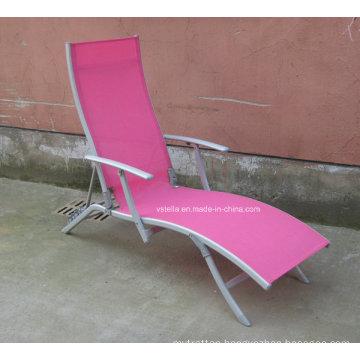 Teslin Mesh Outdoor Sunlounge Garden Beach Chair