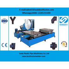 *Sdf90/315мм мастерской полиэтиленовые фитинги для стыковой сварки машина