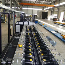 ตู้เย็น U Profile Sidewall Roll Forming Machine