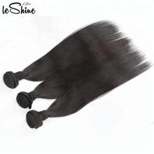 Extensão real não processada do cabelo humano de Remy da Malásia, barato barato Pacotes de cabelo do Weave livre, cabelo malaio virgem