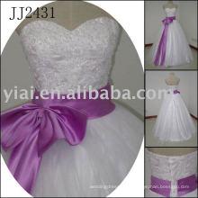 2011 самый последний потрясающий новый реальный прибытия высокого качества кристалл камни мяч stylerystal украшенные свадебные платья 2011 JJ2431