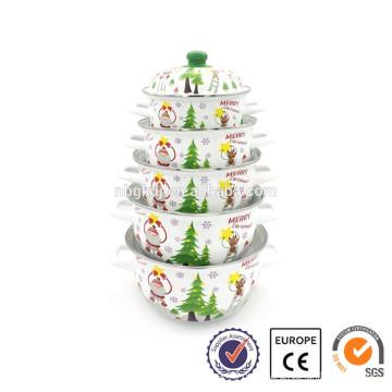 Fading Color Enamelware Enamel Pot Enamel Cookware