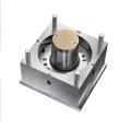 Kundenspezifische Stahl-Kunststoffrahmen-Eimerform