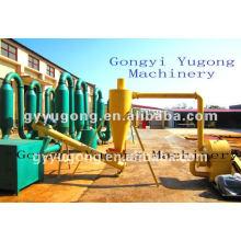 Yugong máquina de secado de polvo de madera