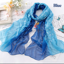 Fashion silk scarves women's silk scarf Pure silk Prevent bask shawls scarf wind palace silk scarves prevented bask beach towels