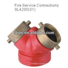 Factory price competitive brass pressure reducing valve fire hydrant valve