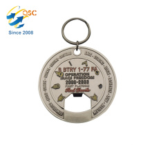 Chinese cheap zinc Alloy with soft enamel metal wine bottle opener parts