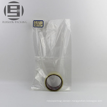 Transparent pe flat packing bags for goods