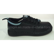 PU Steel Toe Work & Safety Shoes, Lace-up
