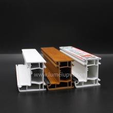 Perfil de uPVC / plástico / PVC para materiais de construção