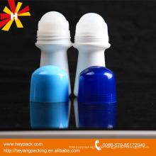50ml Empty Plastic deodorant roll on bottle