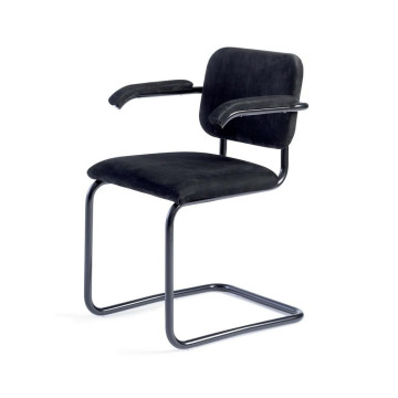 Marcel Breuer tubular steel chair Knoll Cesca chair