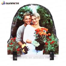 Fashionable craft Sublimation Rock Photo Frame made in china YiWu