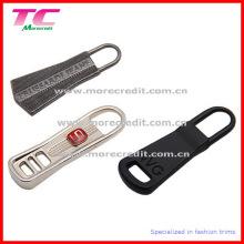 Tirador de la cremallera del metal de la aleación de la manera con diversos diseños