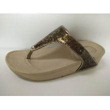 Mujeres verano cómodo zapatos de sandalia de playa, zapatillas